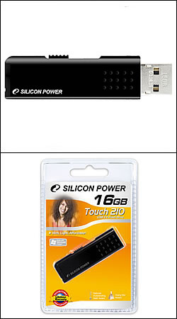silicon power touch 210 8gb (черный)