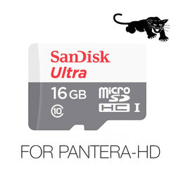 SanDisk Video Full-HD / Super-HD, Ultra SPEED, 16Gb For PANTERA-HD