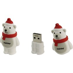 Smartbuy NY series PolarBear 16Gb (белый медведь)