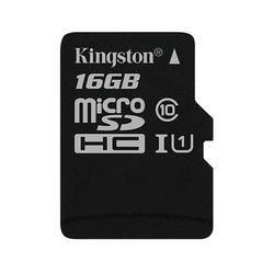 Kingston microSDHC 16Gb class 10 UHS-I w/o adapter (SDCS/16GBSP)