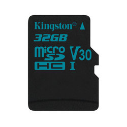 Kingston microSDHC 32GB Class 10 UHS-I U3 w/o adapter (SDCG2/32GBSP)