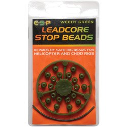 Бусина-стопор E-S-P Leadcore Stop Beads - Camо Brown - 20шт.