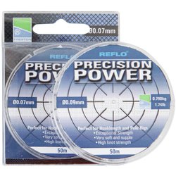 Леска Preston Innovations REFLO® PRECISION POWER™ - 50m / 0.14mm / 1.600kg