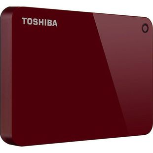 Toshiba Canvio Advance 2TB (HDTC920ER3AA) (красный)