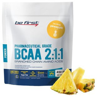 BCAA Be First BCAA 2:1:1 Powder (450 г)