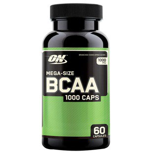 BCAA Optimum Nutrition BCAA 1000 (60 капсул)