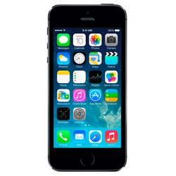 Apple iPhone 5S 32Gb ME308LL/A (space gray) :