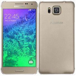 Samsung Galaxy Alpha SM-G850F 32gb (золотистый) :::