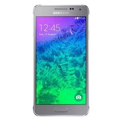Samsung Galaxy Alpha SM-G850F 32gb (серебристый) :::
