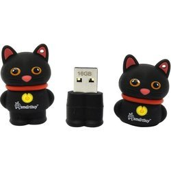 SmartBuy Wild Series Catty 16GB (черный)